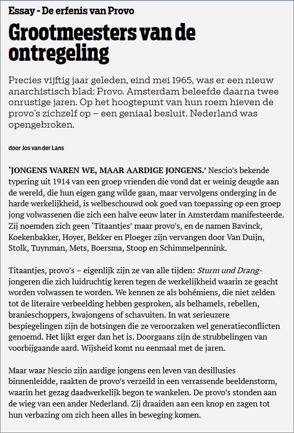 Twit Jos Van Der Ho Zo | Zoubeck